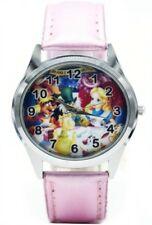 Disney's Alice In Wonderland Pink Leather Band Wrist Watch