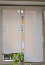 Scheibengardinen 2 x Breite 39 cm x Höhe 93/112 cm- neu - modern Gardine Paneel