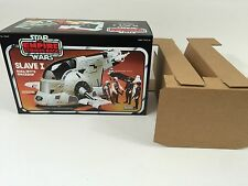 Remplacement Vintage Star Wars Empire Strikes Back Slave One 1 box + inserts