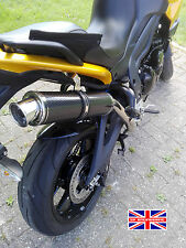 Triumph Tiger 1050 07-12 SP Engineering Carbon Fibre Round Big Bore XL Exhaust