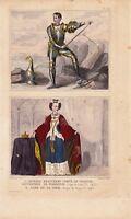 Richard Beauchamp Comte Warwick Règne Henri VI  Dame Cour Règne Henri VI 1446 UK