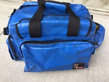 Perfect Eagle Claw Waterproof Pvc Coated Fabric Tackle Bag, Blue, 17x11x12