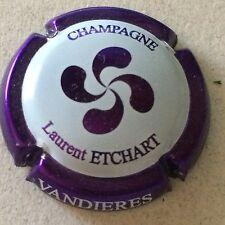 Capsule de Champagne ETCHART Laurent (31. contour violet)