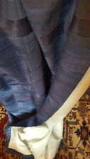 """Pair Lightweight French Navy Lined Curtains 45""""w x 54""""d"""