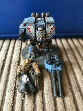 Warhammer 40k Space Wolf Venerable Dreadnought Nicely Painted