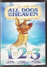 All Dogs Go To Heaven Collection 1, 2 & 3 - DVD 3-Movie Set BRAND NEW