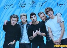 One Direction-AUTOGRAFO carta-signed autograph autografo raccolta skinning