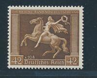 """DT. REICH 1938, Mi. 671 y **, """"Braunes Band"""", tadellos!! Mi. 150,--!!"""