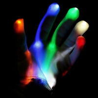 NEW! XBone L.E.D Gloves Rave Burning Wear Man Light Up Show DJ - FREE SHIPPING~