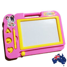 Pink Magnetic Drawing Board Sketch Pad Doodle Writing Craft Art Child GWRIT0103