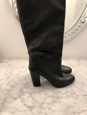 Kate Spade Black Leather Boots - Vera Cuoio