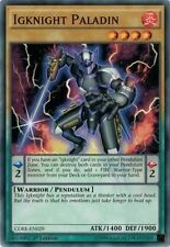 Igknight Paladin (CORE-EN029) -  Common First ed. Yugioh