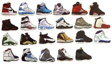 Air Jordan I-XXIII Retro Sneaker Shoe Skateboard Laptop Luggage Sticker Set 23pc