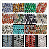 18x13mm Faceted Natural Mixed Gemstone Teardrop Loose Bead 8 inch JK40