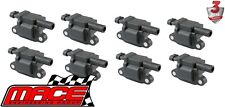 SET OF 8 IGNITION COILS HOLDEN COMMODORE UTE VZ VE VF L76 L77 L98 LS3 6.0 6.2 V8