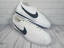 Nike Classic Cortez Leather UK 11 EUR 46 /White Black 749571 100