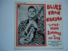 LITTLE MACK SIMMONS & HIS BOYS - Blues From Chicago - RARE OUTASITE EP EX++