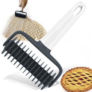 Plastic Pizza Dough Cookie Bread Wheel Roller Cutter Kitchen Baking Kits AU