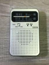 Design Arrows RD9 FM AM Pocket Radio - Works Great
