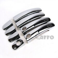 Chrome Door Handle Cover For Keyless Sensor Two Holes For Ford Escape Kuga 13-16