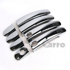 New Door Smart Handle Cover Chrome Trim For Ford Escape Kuga 2013 2014 2015 2016