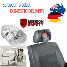 CAR SAFETY VIEW BABY BACK SEAT MIRROR Child Inside Back Rear Facing Ward Infant