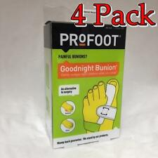 ProFoot Goodnight Bunion, Tight Tendon Realiner, 1ct, 4 Pack 080376016683S494