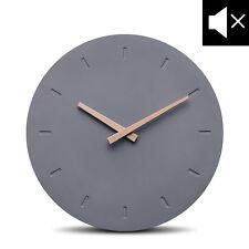 Cander Berlin MNU 6130 Designer Wanduhr Uhr Beton lautlos kein Ticken 30,5cm