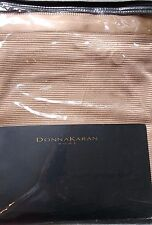 DKNY Donna Karan Modern Classics 3PC Queen DUVET COVER & SHAMS Rose Gold $876New