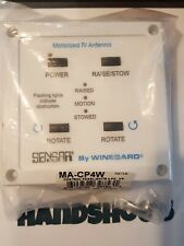 SENSAR BY WINEGARD MOTORIZED TV ANTENNA WALL PLATE CONTROL PANEL #MA1000W *T10