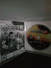 Mass Effect 2 Sony Playstation 3 Ps3 Original Cib Completo Funda Manual S12