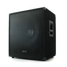 """(RICONDIZIONATO) SKYTEC SUBWOOFER BASS REFLEX 600W 15"""" DJ PARTY PA CASSA DIFFUSO"""