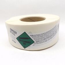 Roll Of 500 Ratermann Rll-Cgnos3Bl Un1956 Shoulder Label