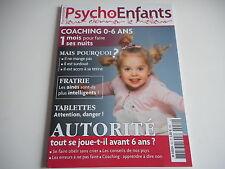PSYCHO ENFANTS - LEUR DONNER LE MEILLEUR autorité tout se joue-t-il avant 6 ans
