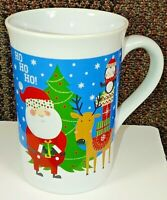 Royal Norfolk Christmas Coffee Mug Cup Santa Reindeer Penguin Tree  Ho Ho Ho