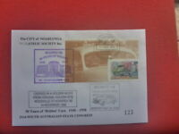 1998  NOARPEX SPECIAL CARRIED CONGRESS  COVER PRESTIGE HOLDEN STAMP