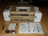 Onkyo CDR-205TX Audio CD-Recorder, komplett in OVP, BDA & FB, 2 Jahre Garantie