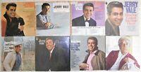Jerry Vale, 8 Vinyl Record Lot, 7 LP & 1 DLP, 5 US 1st Press, 2 Promo Trad Pop
