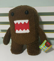 DOMO PLUSH TOY BROWN CHARACTER TOY 30CM TALL 2008 DOMO ANIMATION
