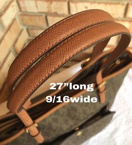 """Replacement Straps Brown 9/16""""wide/can use to michael kors purse"""