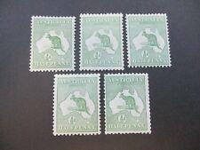 Kangaroo Stamps: 1st Watermark selection MNH   - Great Item    (j23)