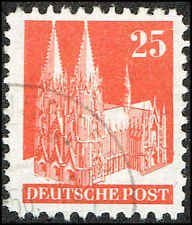Scott # 648 - 1948 - ' Cologne Cathedral '
