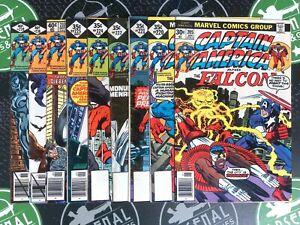 Captain America Lot Of 66 Issues! 1977-1992 Marvel Comics Avengers Falcon