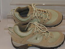 Garmont 39 US 7.5  Amica Lite Beige Suede Mesh Lace Hiking Trail Shoe Sneaker