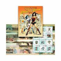 Australia Post Wonder Woman Stamp Pack - FREE 'N' FAST Postage