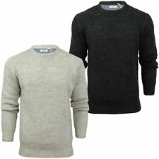 Xact Mens Jumper Fashion Wool Blend Knit