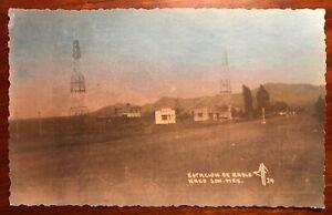 Estacion de Radio Naco Son Mex Mexico RPPC 1947