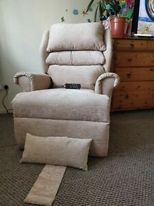 Electric Recliner Mobility Lift and Tilt Riser Arm Chair with dual motor