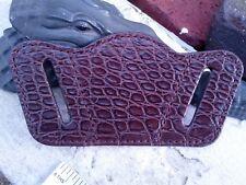 Wild Alligator Leather Universal Pistol Revolver Handgun Holster gator skin F16