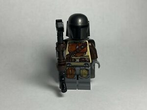 LEGO Star Wars The Mandalorian Din Djarin Genuine Minifigure Minifig 75254